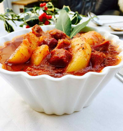 Ox Tongue Goulash