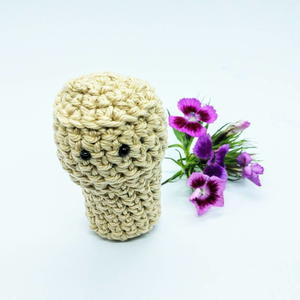 Amigurumi Cork - for Cork Gnomes