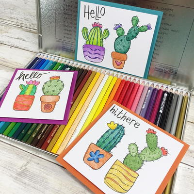 How to Draw Succulents with a Free Printable