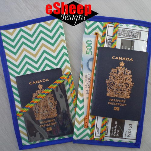 Passport & Travel Document Keeper