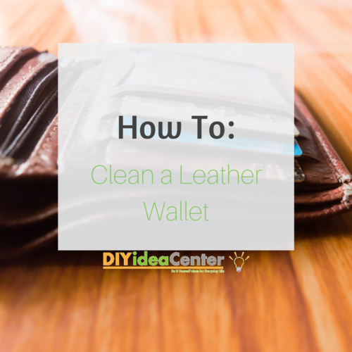 How to Clean a Leather Wallet