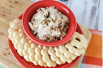 Butter Pecan Cookie Dough Dip