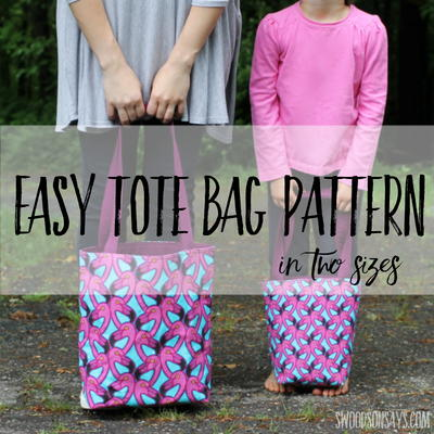 Mommy & Me Tote Bag Tutorial