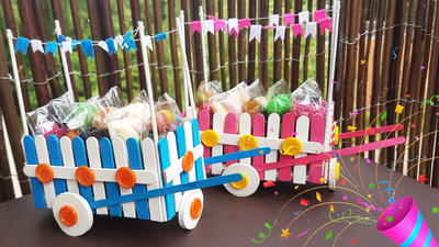 Party Sweet Box from Sticks