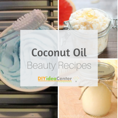 16 Coconut Oil Beauty Recipes