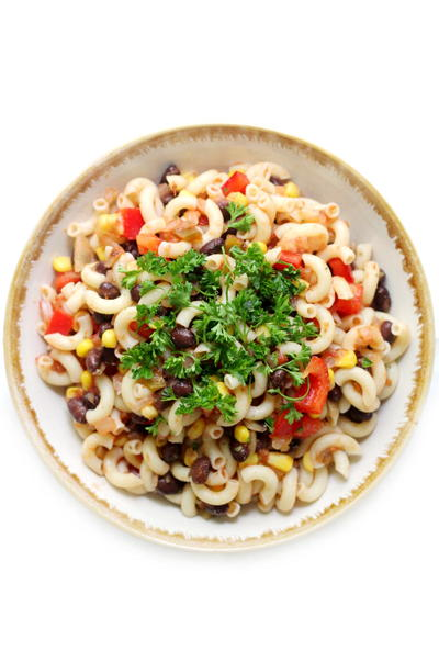 Easy Gluten-Free Mexican Pasta Salad (Vegan, Allergy-Free)
