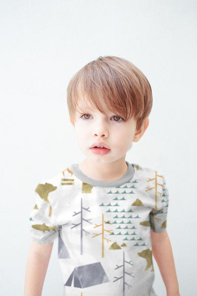 Free Sewing Tutorial and Sewing Pattern Short Sleeve T-Shirt