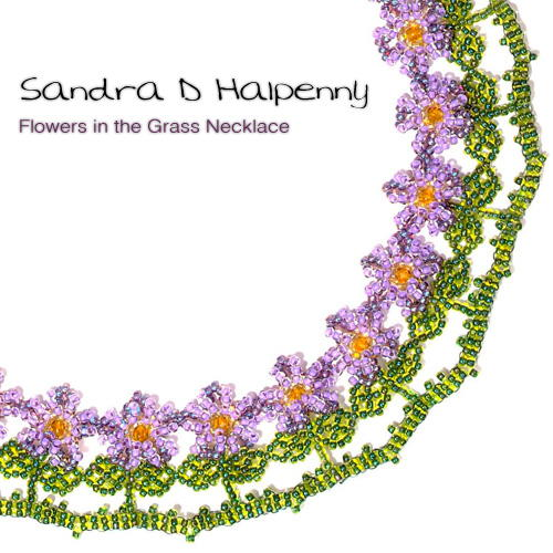 Flowers in the Grass Necklace Pattern