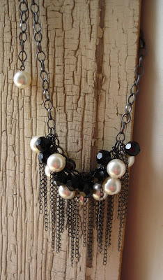Chaos in Pearls Necklace