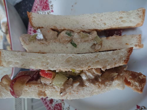 Allergy Friendly Chicken Waldorf Sandwich