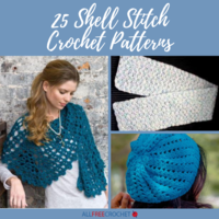 25 Shell Stitch Crochet Patterns
