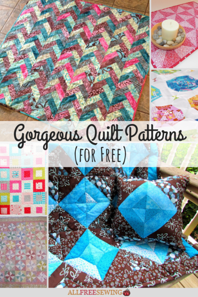 21 Gorgeous Quilt Patterns for Free