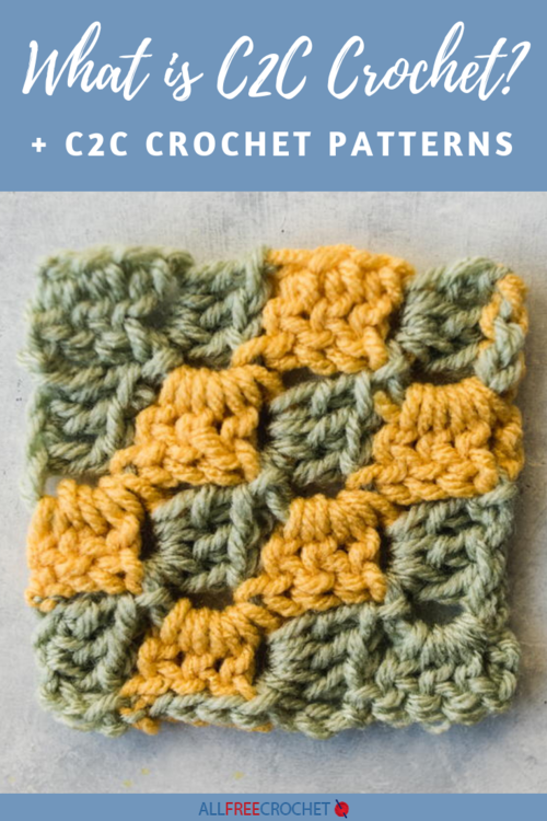 What is C2C Crochet and 12 C2C Crochet Patterns