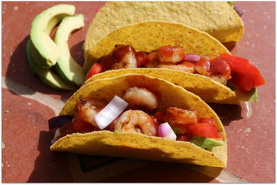 Easy Grilled Shrimp Tacos