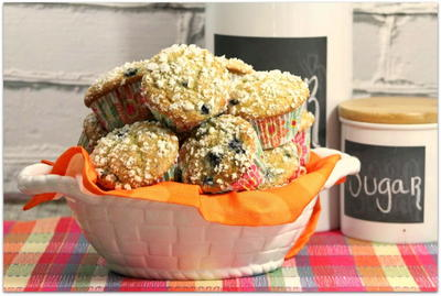 Healthy Blueberry Orange Muffin Recipe
