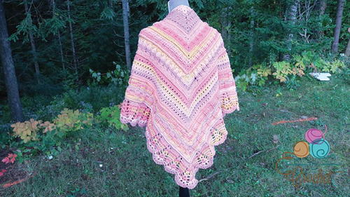 7 Stitch Crochet Shawl Pattern