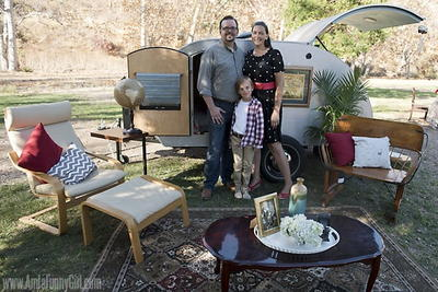 Graham Cracker Teardrop Trailer Project