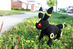 Pokemon Umbreon Amigurumi