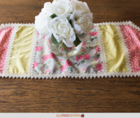 How to Sew a Table Runner (Vintage Style)