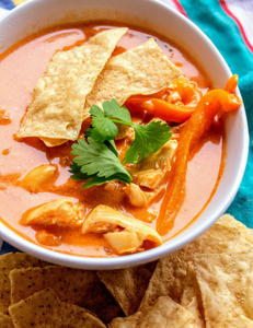 Copycat Applebee's Chicken Tortilla Soup