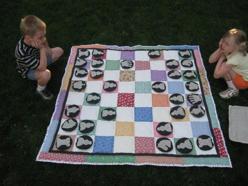 Game Time Picnic Quilt