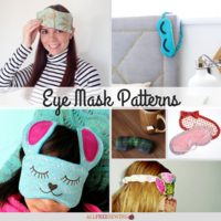 10+ Eye Mask Patterns That Are Sooo Dreamy