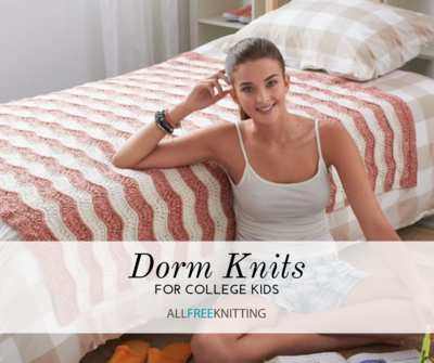Dorm Knits for College Kids