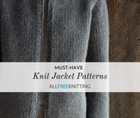 10 Must-Have Knitted Jacket Patterns