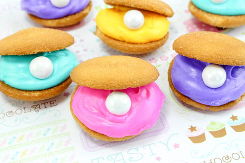 Clam Shell Cookies