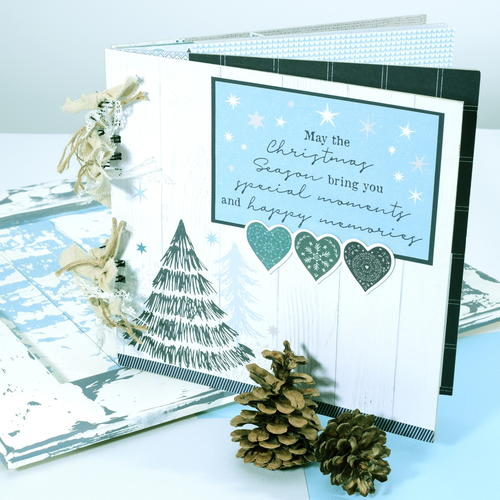 Scrapbook album Christmas in Wonderland