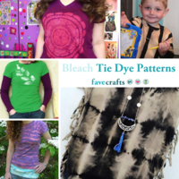 5 Bleach Tie Dye Patterns
