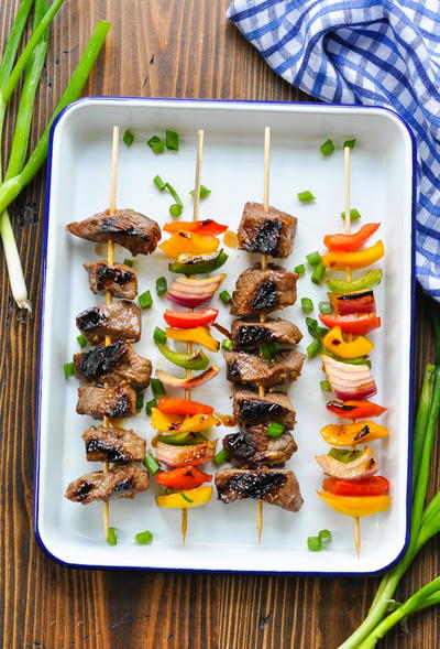 Easy Marinated Beef Kabobs