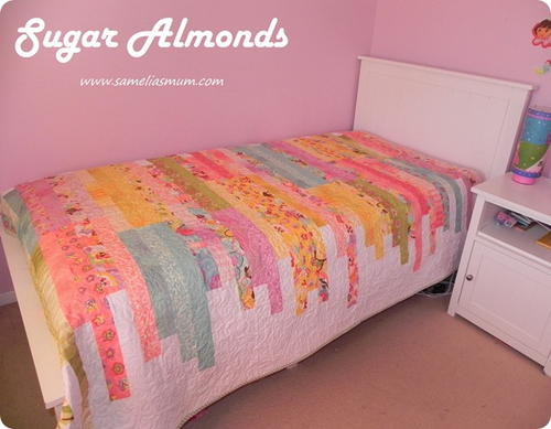 Sugar Almonds Quilt Pattern