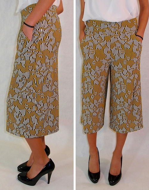 Womens Culottes Sewing Pattern