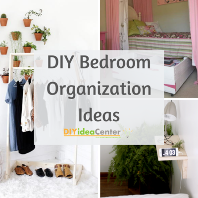 DIY Bedroom Organization Ideas
