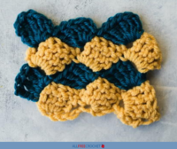 Vintage Crochet Shell Stitch Tutorial