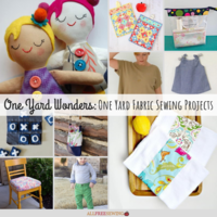 One Yard Wonders: 26+ One Yard Fabric Sewing Projects