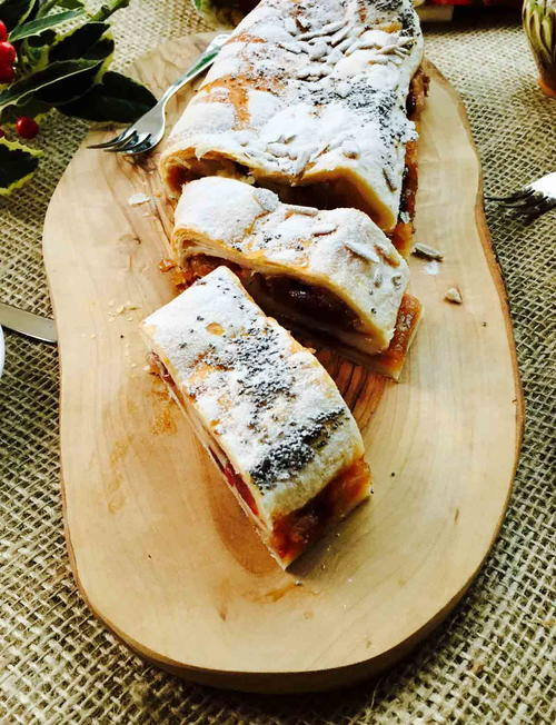 Quick N Yummy Apple Strudel