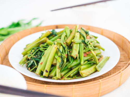 Thai Stir-Fried Morning Glory | Pad Pak Boong