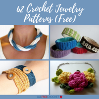 62 Crochet Jewelry Patterns (Free)