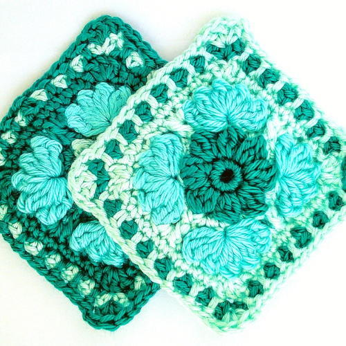 Ice Flower Granny Square