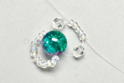 Beebeecraft Tutorials on Making Beautiful Bracelet with Glass Round Beads