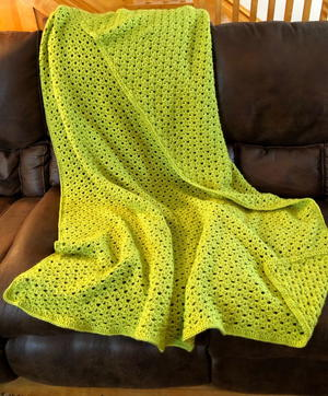 Glorious Springtime Blanket Crochet Pattern