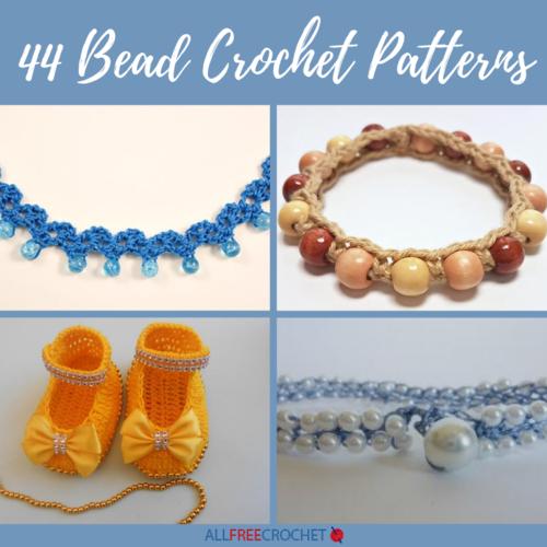 friendship bracelet boho style Crochet beaded bracelet