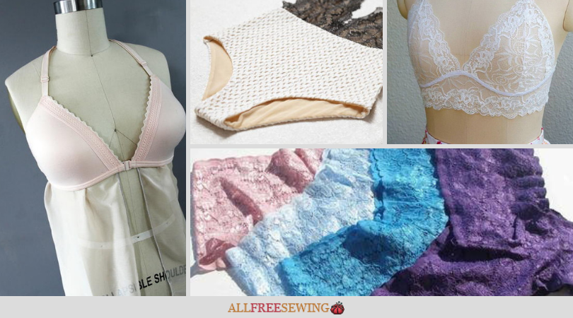 1ee1c4f3a69849 Make Your Own Lingerie: How to Make Underwear + Bras | AllFreeSewing.com