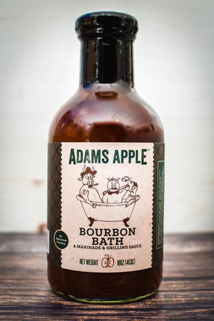 Adams Apple Bourbon Bath Marinade and BBQ Sauce Giveaway