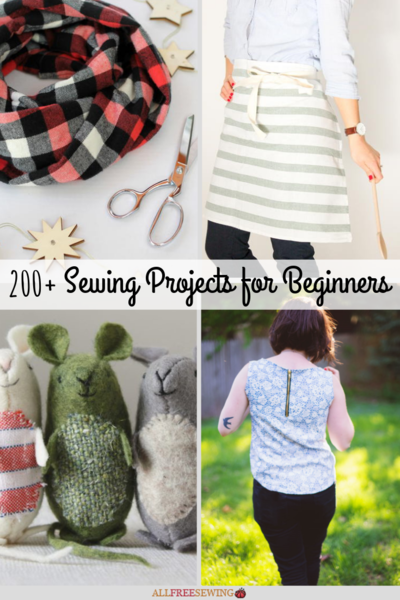 200 Sewing Projects for Beginners