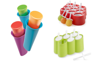 3-Piece Ice Pop Mold Set Giveaway
