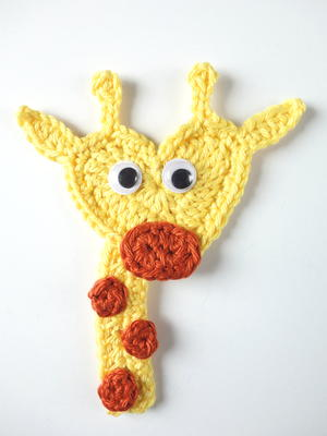 Crochet Giraffe Applique