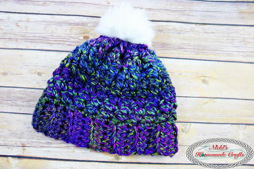 How to Quickly Crochet a 30 Minute Kaleidoscope Beanie